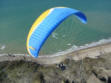 Tandem flight in Normandie